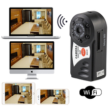 Mini Q7 Camera Wifi Wireless Camcorder Night Vision DVR IP Camera Infrared Camera Built-in Microphone Motion Detection Camera