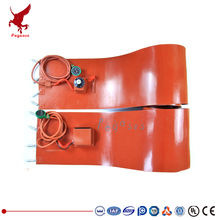 400 mm wide Various lengths and power Silicone rubber heating plate Heating belt Bucket heater Heating cable