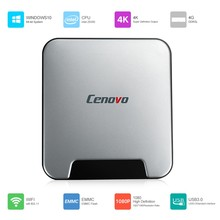 Original Cenovo Mini PCS Intel X5-Z8350 Quad Core Windows 10 Activated 4GB RAM 64GB HDD Mini PC BT 4.0 H.264 WIFI Ultra Slim Box