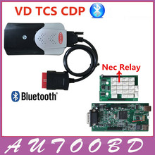 New Released 2015.R3 VD TCS CDP Bluetooth With Double PCB Chip For Car Truck Multibrand Vehicles Diagnostic tool Better Than MVD