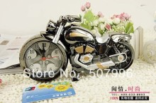 Cool Motorcycle Model Grandfather Clock Alarm Clock Fashion Personality Alarm Clock Creative Home Gifts Home Decor