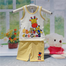 New Children Set Baby Kids Clothes t-shirts For Girls Boys Clothes t shirt+pants Undershirt Shorts Summer Children Clothing Sets