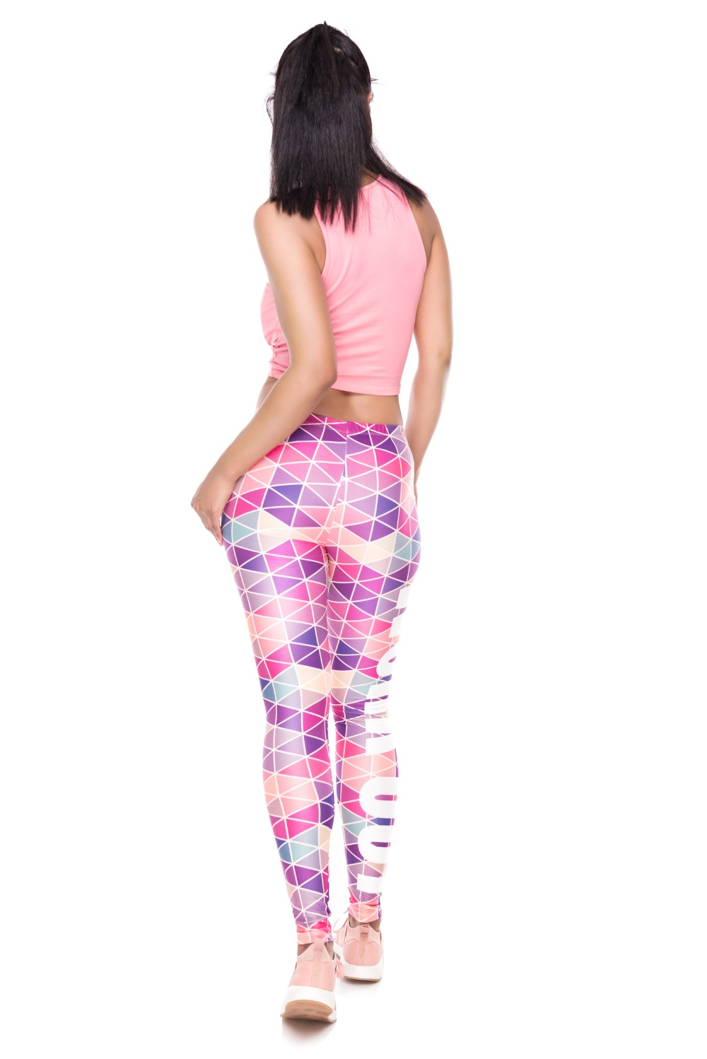 34261 WORK OUT triangle pink (3)