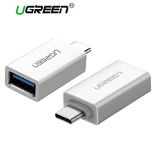 Ugreen USB Type C Adapter USB C Male to USB 3.0 Female USB OTG Adapter Converter For Xiaomi Oneplus LG Nexus 5X 6P Type-C Wire(China)