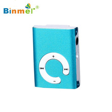 HOT ! Best Price Mini MP3 Player Sport Clip Metal USB Support Micro SD TF Card Music Media high quality hot NEW 50FEB28