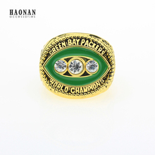 Free Shipping 1967 Green Bay Packers Super Bowl Championship Ring Size 11 Solid Fan Gift Wholesale Fashion Men Ring(China)