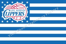 Los Angeles Clippers USA Star Stripe NBA1 Premium Team Basketball Flag 3X5FT