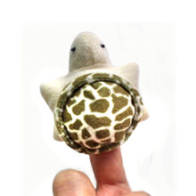 10pcs/lot, Plush turtle finger puppets, stuffed  sea animals finger puppets, plush ocean animals finger puppet, free shipping  t