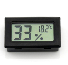 by DHL fedex UPS 100pcs/lot Digital LCD Hygrometer Temperature Humidity Meter Thermometer -50~70C 10%~99%RH