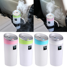 1PCS 300ML USB Air Humidifier Car Ultrasonic Freshener Aromatherapy Aroma Purifier Essential Oil Diffuser Mist Maker Perfume