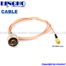 1 meter RG316 N male to RP SMA male 2.4GHz wifi outdoor antenna connecting cable(China)