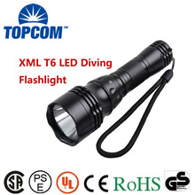XM-L T6 U2 LED 1800Lm 5 Modes Waterproof Scuba Diving Flashlight Underwater Waterproof Submarine Light Lamp Flashlight Torch(China)