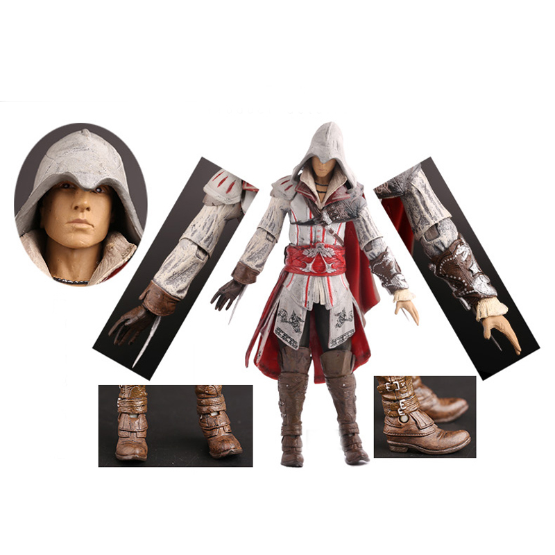Assassins Assassin Creed Altair PVC Action Figure Toys Assassins Creed Game Doll 17CM<br><br>Aliexpress