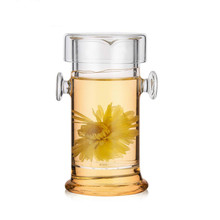 210ml glass tea pot with filter,clear heat resistant borosilicate blooming teapot,heat-resistant teapots for puer,flower teas