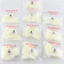 Makartt 100bags/lot Natural Duck Nail Tips Wide False Nail Tips Acrylic Nail Dropshipping [ Wholesale ] A0033XX(China)