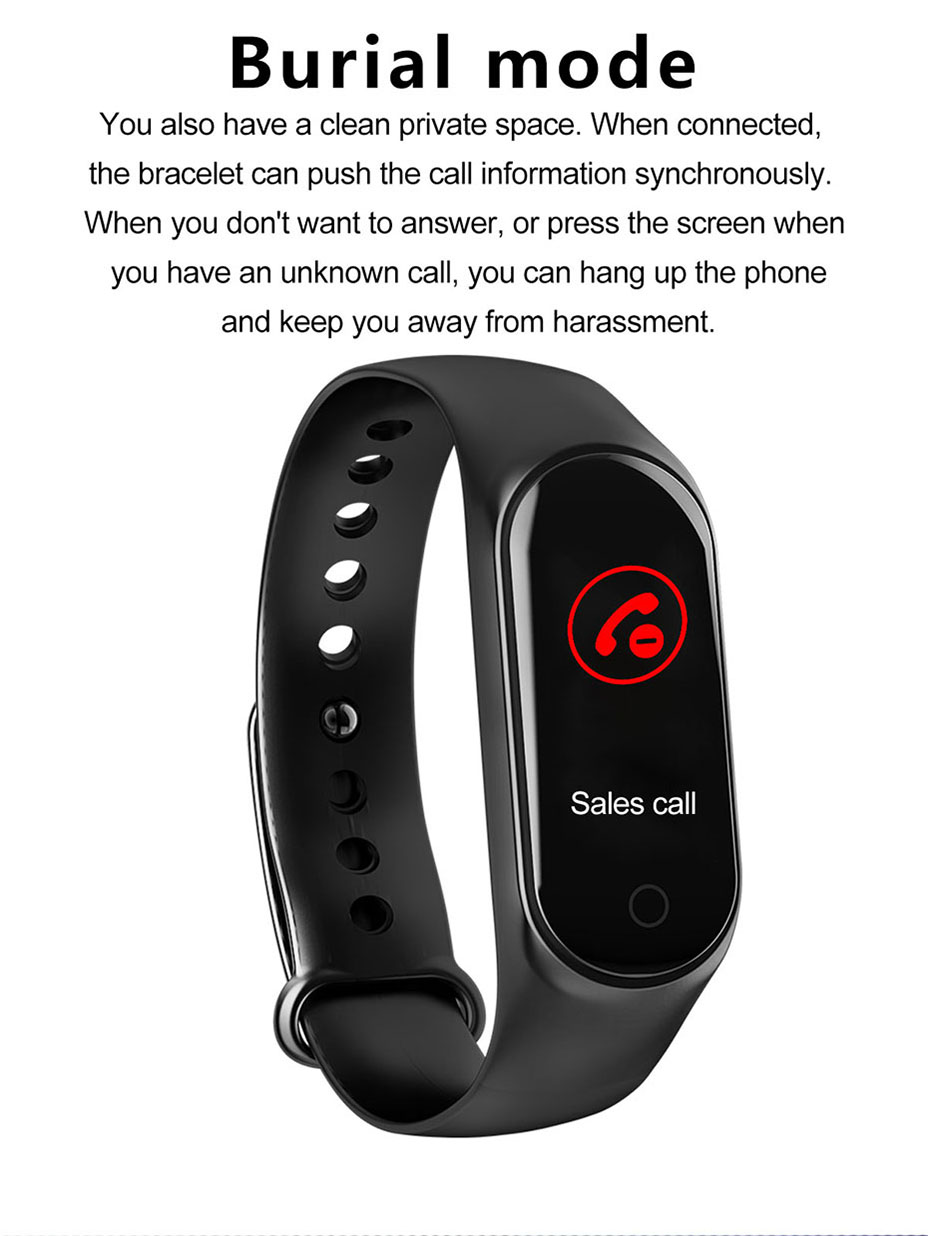COLMI M3S Smart Bracelet Color-screen Fitness Tracker blood pressure Heart Rate Monitor sleep tracker Wristband For Android IOS 9