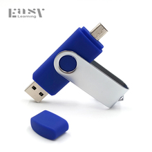 Easy Learning OTG USB Flash Drive Pen Drive Smartphone 64GB 32GB 16GB 8GB 4GB Flash Drive USB 2.0 Pendrive Memory Stick