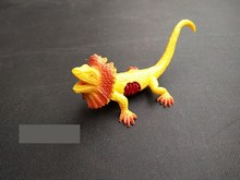 9cm Simulation Reptile Model Injured Lizard Children Toys Lizard Chameleon Tricky Taoism(China)