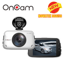 Original Novatek NTK96650 Car DVR Camera OnCam T808 Dash Camera Full HD 1080P Car Camcorder 3.5Inch 170 Degree G-Sensor Dash Cam