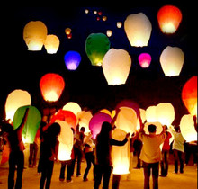 Selected Colors 500 pcs Chinese kongming lanterns,Christmas SKY Balloon Kongming wishing Lanterns Flying Light Halloween Lights