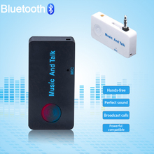 Universal Wireless Handsfree Bluetooth Car Kit 3.0 Bluetooth Headset  Music Receiver for All Smartphones BT02