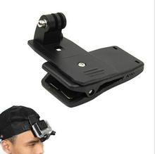 360 Degree Quick Release Rotary Backpack Hat Clip Fast Clamp Mount For GoPro Hero 2 3 3+ for Go pro Sports Action Cameras