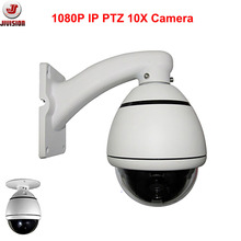 Onvif 10X 1080P PTZ Camera Outdoor waterproof  mini CCTV high speed dome Camera Zoom Pan tilt PTZ Dome Camera Security IPCamera