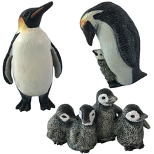 3 styles Action & Toy Figures Penguin Marine Animal Toys PVC Sea Life Penguin's Baby Dolls Children For sale Kid Gift(China)
