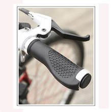 Antiskid Bike Handle Grips Ergonomic Rubber Mountain Bike Handlebar Grips Bicycle Accessories(China)