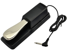 Free Shipping Damper Sustain Pedal For Yamaha Piano For Casio Keyboard Sustain Ped Black
