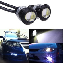 "B86"" Hot 2PC 9W LED Eagle Light Eye Car Fog DRL Daytime Reverse Backup Signal Parking(China)"