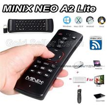 Original Minix NEO A2 Lite 2.4GHz Wireless Air Mouse Six-axis Gyroscope Gampad Remote Control for Android TV Box Windows Linux