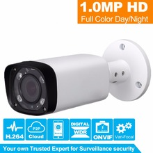 Buy HiSecu1.0MP Bullet 720P IP Camera 1080P Outdoor IR 2.8~12mm VF lens Motorized Zoom Security CCTV Camera P2P Remote Support for $56.10 in AliExpress store
