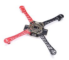 Hot F450 4-Axis MultiCopter Quadcopter Frame 450F Multi-rotor Airframe Kit with red and black arm