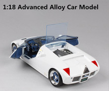 1:18 Advanced alloy high imitation model car, Ford GT90 concept car, metal casting, exquisite collection model, free shipping(China)