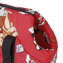 Soft Carry Shoulder travel bag Handbag for Small size dog  cat red
