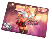 Grand Theft Auto mouse pad GRA Beautiful pad to mouse Natural rubber mousepad gaming padmouse gamer to laptop keyboard mouse mat