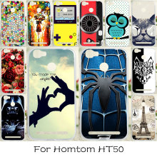 Buy TAOYUNXI Soft Silicone Case Homtom HT50 Case Dirt-resistant DIY Painted Cover Homtom HT50 Cases Silicon for $1.42 in AliExpress store