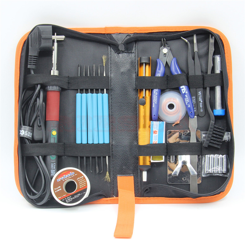 CXG DS90T 90W Soldering Iron high quality heat soldering stand welding electric soldering iron tip Suction tin pump Toolkit<br>