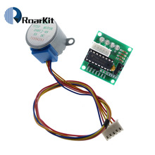 1LOT 5V 4-Phase Stepper Step Motor + Driver Board ULN2003 with drive Test Module Machinery Board for arduino Raspberry pi kit(China)