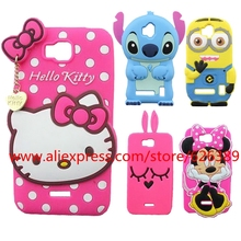 For Huawei Y5 Y5C Y541 Y560 Silicone Hello Kitty Minions Stitch Bunny Minnie Design Soft Rubber Cell Phone Case Cover