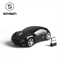 Sovawin 1200 DPI 2.4G Mini Wireless Mouse Car Shaped Mause USB Optical Mice for PC Laptop Computer Home Office USE