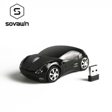 Sovawin 1200 DPI 2.4G Mini Wireless Mouse Car Shaped Mause USB Optical Mice for PC Laptop Computer Home Office USE(China)