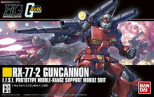 Bandai 1/144 HGUC 190 Gun Cannon Gundam  Scale model building hobby
