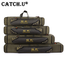 Fishing Backpack 80cm 90cm 100cm 1.2 m Double Layer Fishing Rod Bag 3 Layers Fishing Bag Pole Fishing Tackle Bag