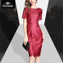3xl factory-direct-clothing vestidos  robe femme ete 2017  clothes for women wine color and blue sheath dress sexy  170622