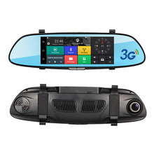 7.0 inch Touch Screen 3G Car DVR video Mirror Android  5.0 GPS RAM 1GB FHD 1080P Car Automobile DVRs Bluetooth Hands-free WIFI