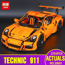 New LEPIN 20001 technic series 911 Model Educational Building Kits Blocks Bricks Boy Toys Compatible 42056 Christmas Model Gifts