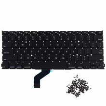"Laptops Replacements Keyboards US Standard Fit For Apple 13"" MacBook Pro Retina A1425 Notebook Replacement Keyboards VCX69 T50(China)"