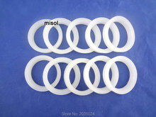 100pcs/lot of white silicon sealing ring sealing loop for vacuum tube 58mm, for solar water heater